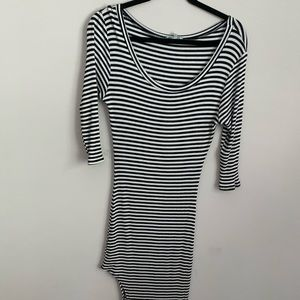 NWOT Charlotte Russe striped maxi